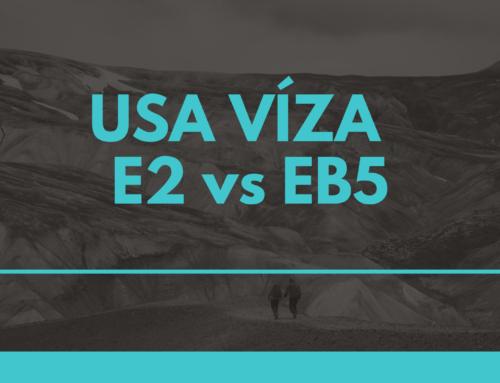 Srovnání USA víza – E2 vs EB5